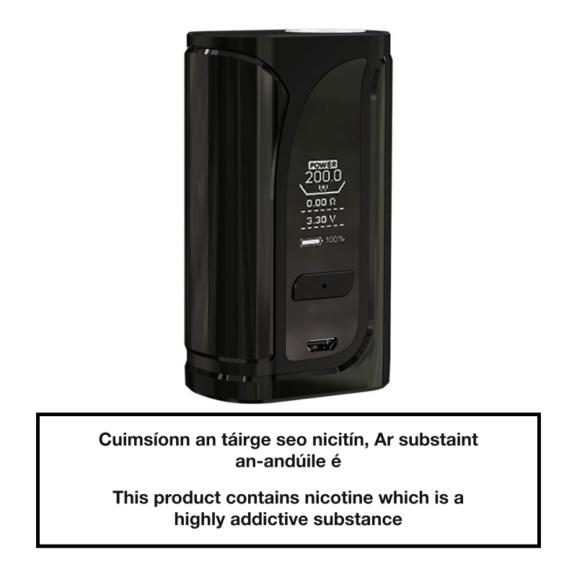 Eleaf iKuu i200 TC Box Mod 4600mAh - Black
