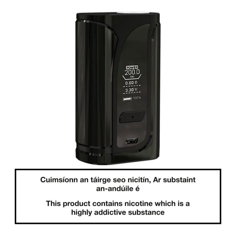 Eleaf iKuu i200 TC Box Mod 4600mAh - Black