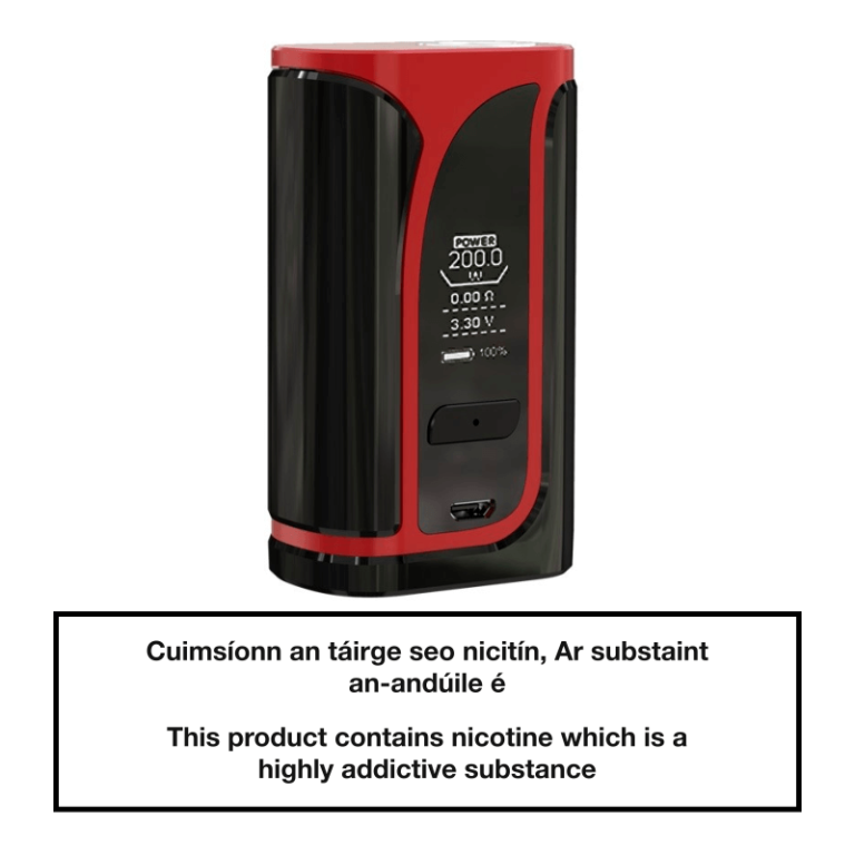 Eleaf iKuu i200 TC Box Mod 4600mAh - Red