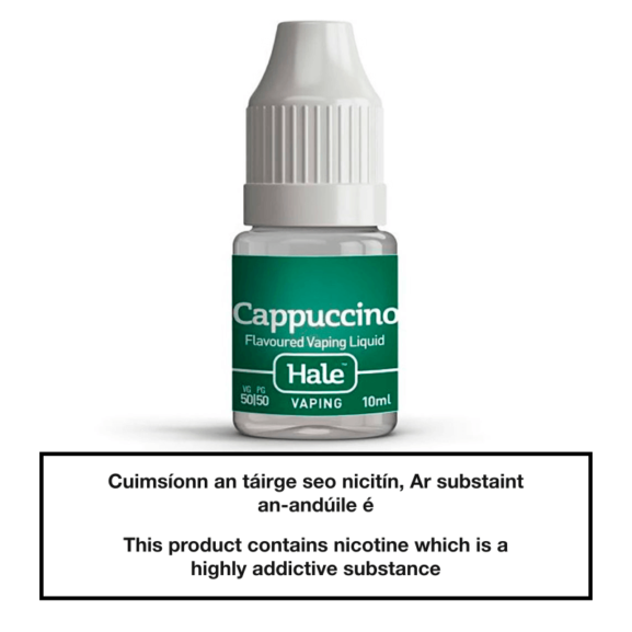 Hale Cappuccino E-Liquid 10ml