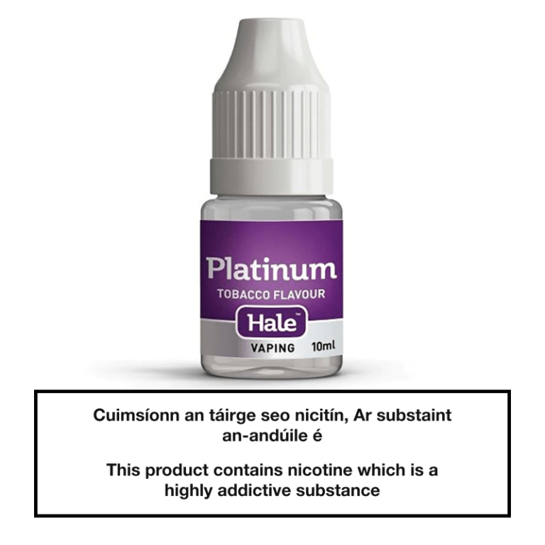 Hale Platinum E-Liquid 10ml