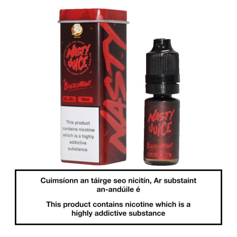 Nasty Juice Blackcurrant 10ml