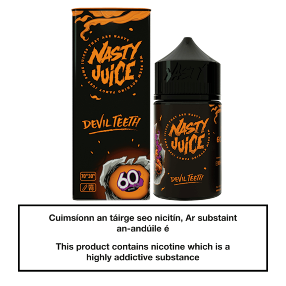 Nasty Juice Devil Teeth 50ML 0mg