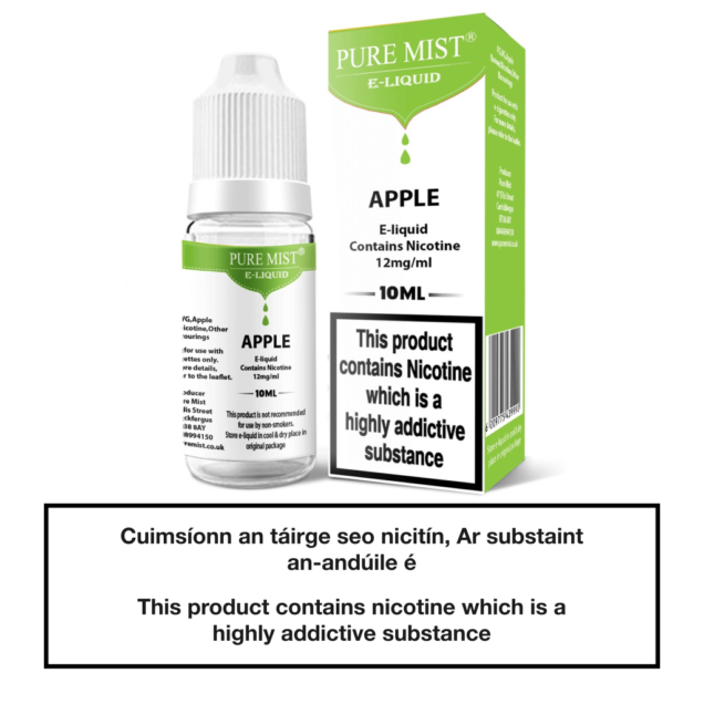 Pure Mist Apple 10ml