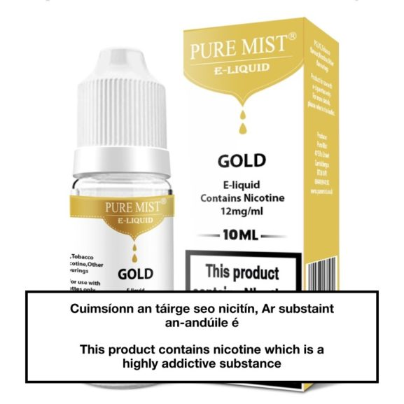 Pure Mist Gold 10ml e liquid