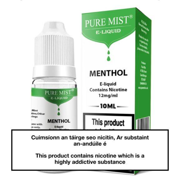 Pure Mist Menthol 10ml e liquid