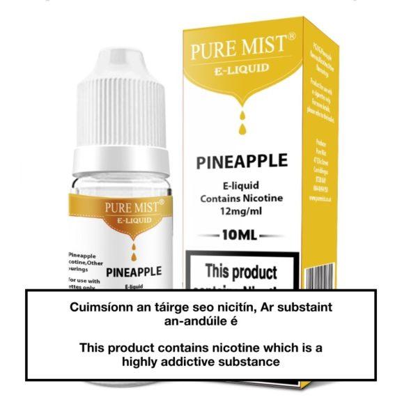 Pure Mist Pineapple 10ml E liquid