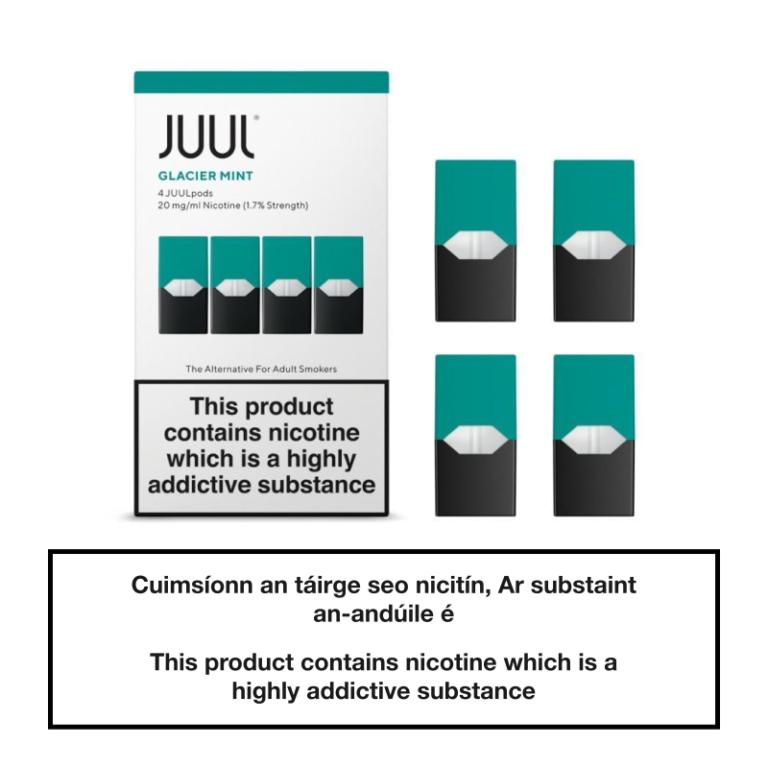 JUUL Glacier Mint Pod Image 2