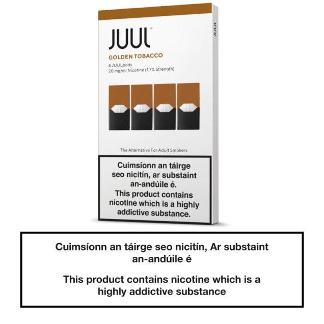 JUUL Pods Golden Tobacco x4