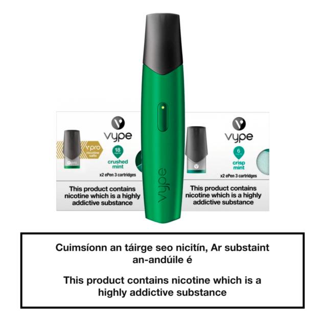 Vype ePen 3 Starter Kit - Green