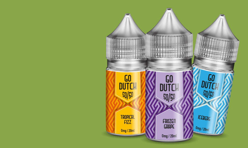 Go Dutch Shortfills E Liqids 20ml