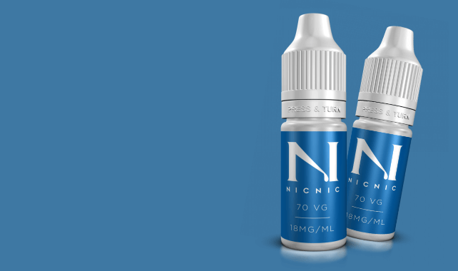 NIC NIC Nicotine Shot for your Shortfill E liquids