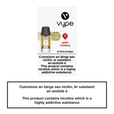 Vype ePod Cartridges Garden Strawberry - 12mg