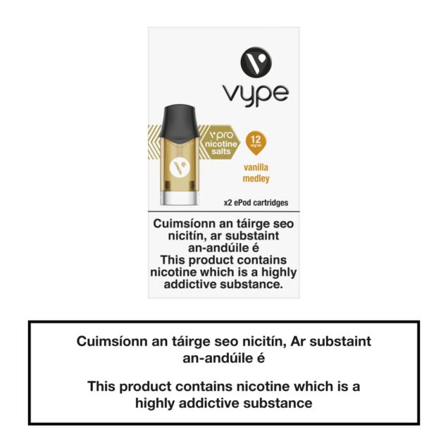Vype ePod Cartridges Vanilla Medley - 12mg