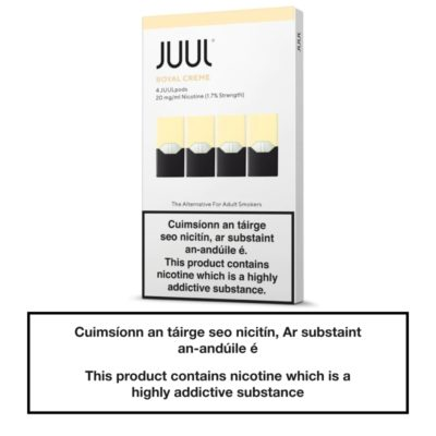 JUUL Pods Royal Creme x4