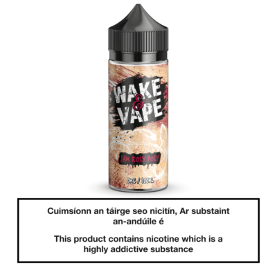 Wake & Vape Jam Roly Poly 100ml